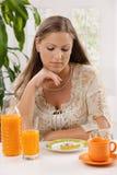 giovani della donna di dieta Fotografie Stock