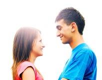 giovani di amore delle coppie Fotografie Stock Libere da Diritti