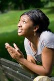 giovani di preghiera della donna Fotografie Stock