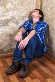 giovani di sonno dell'uomo Fotografia Stock Libera da Diritti