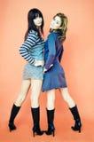 Giovani donne alla moda immagine stock