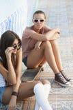 Giovani donne attive Fotografie Stock