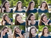 Giovani donne attraenti Fotografia Stock Libera da Diritti
