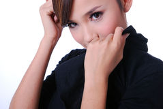 Giovani donne attraenti Fotografie Stock Libere da Diritti