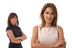 Giovani donne di affari Immagine Stock