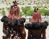 Giovani donne di Himba Immagini Stock Libere da Diritti