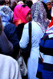 Giovani donne turche con le sciarpe Fotografie Stock