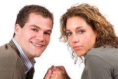 Giovani e nell'amore immagini stock libere da diritti