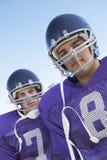 Giovani giocatori di rugby Immagine Stock