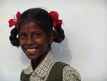 Giovani girly in India del sud Fotografia Stock Libera da Diritti