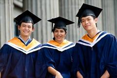 Giovani laureati Immagini Stock Libere da Diritti