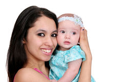Giovani madre e figlia immagine stock