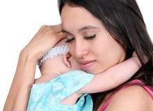 Giovani madre e figlia fotografia stock