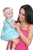 Giovani madre e figlia immagini stock libere da diritti