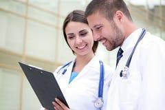 Giovani medici Fotografie Stock