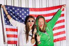 Giovani patrioti Immagini Stock