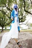 Giovani ragazze giapponesi di cosplay Immagine Stock