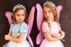 Giovani regine leggiadramente fotografie stock