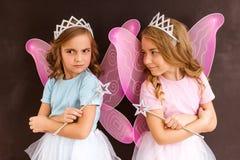 Giovani regine leggiadramente fotografia stock libera da diritti
