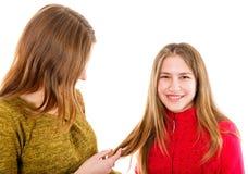 Giovani sorelle felici Fotografia Stock