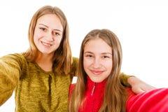 Giovani sorelle felici Immagine Stock Libera da Diritti