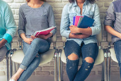 Giovani studenti internazionali Immagine Stock Libera da Diritti