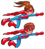 Giovani supereroi.