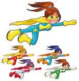 Giovani supereroi. Immagini Stock