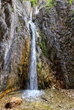 Giovannelli Gorge - lower waterfall Stock Images