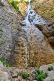 Giovannelli Gorge - upper waterfall Royalty Free Stock Images
