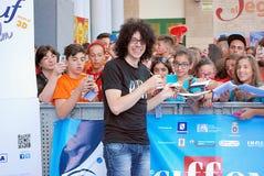 Giovanni Allevi al Giffoni Ekranowy festiwal 2013 Zdjęcie Stock