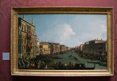 Giovanni Antonio Canaletto - national gallery, Londyn obraz royalty free
