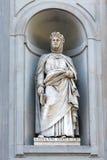 Giovanni Boccaccio statue, Florence Stock Photography