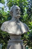 Giovanni Corrao monument, Palermo royalty free stock photography