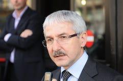 Giovanni Faverin, CISL FP领导先锋  库存照片