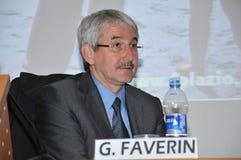 Giovanni Faverin, генеральный секретарь соединения CISL FP Стоковые Изображения