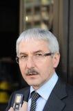 Giovanni Faverin, leider van vriespunt CISL stock foto