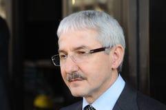 Giovanni Faverin, leider van vriespunt CISL stock afbeeldingen
