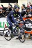 Giovanni Visconti  Team Movistar Stock Image