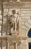 Giovene palace. Molfetta. Puglia. Italy. Stock Photos