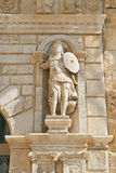 Giovene palace. Molfetta. Puglia. Italy. Royalty Free Stock Images