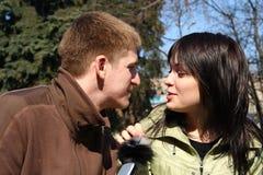 gioventù della sorgente di amore Fotografia Stock Libera da Diritti