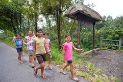 Gioventù di Balinese Fotografie Stock Libere da Diritti