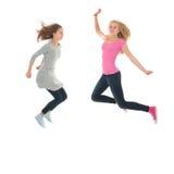 Gioventù di salto Fotografie Stock Libere da Diritti