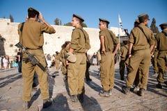 Gioventù militare sionistica Fotografie Stock Libere da Diritti