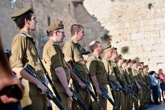 Gioventù militare sionistica Immagine Stock Libera da Diritti