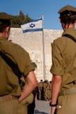 Gioventù militare sionistica Fotografia Stock
