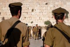Gioventù militare sionistica Immagini Stock Libere da Diritti