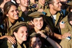 Gioventù militare sionistica Fotografia Stock Libera da Diritti