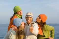 Gioventù sorridente Immagine Stock